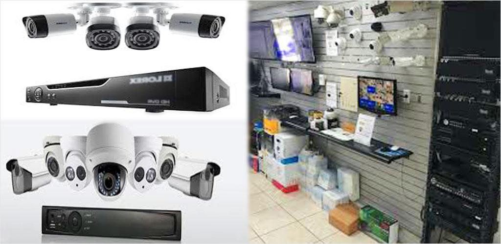 دوربین مداربسته فروشگاهی ضبط اینترنتی